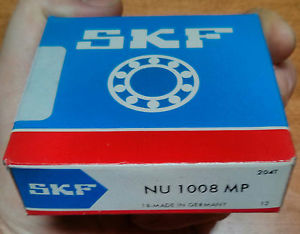 high temperature SKF NU1008MP Cylindrical Roller Bearing NU-1008-MP New