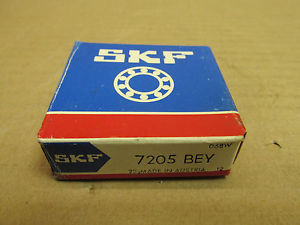 high temperature NIB SKF 7205 BEY ANGULAR CONTACT BEARING 7205BEY