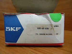 high temperature SKF BEARING GE60ES FREE SHIPPING INCLUDED