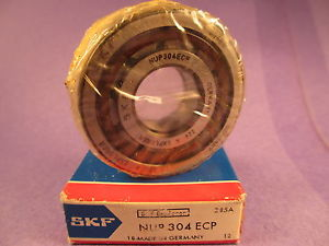 high temperature SKF NUP 304 ECP  Single Row Cylindrical Bearing, NUP304ECP, NUP304