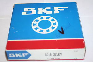 high temperature SKF 6018 2ZJEM Shielded Deep Groove Bearing *  *