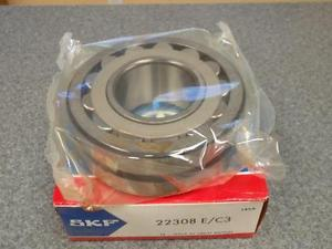 high temperature SKF 22308E/C3 BEARING * IN SEALED PKG*