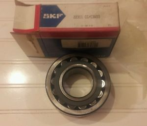 high temperature SKF 22311 CC C3 W33, 22311CC Spherical Roller Bearing
