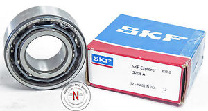 """high temperature SKF 3205A DOUBLE ROW, ANGULAR CONTACT BEARING, 25mm x 52mm x 20.6mm (13/16"""") C0"""