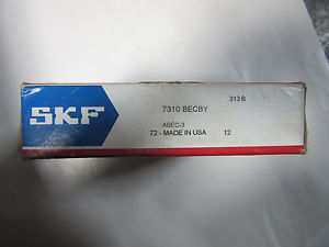 high temperature SKF 7310BECBY Heavy Duty Roller Bearing !!! in Sealed Box Free Shipping