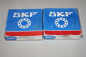 high temperature (Lot of 2) SKF 6018 2Z Shielded Deep Groove Bearings *  *