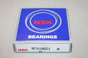 high temperature NSK NF-309-MCC3 Cylindrical Bearing NF309MCC3 *  *