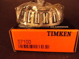high temperature Timken 07100 Tapered Roller Bearing Cone