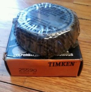 high temperature 25590 TIMKEN New Tapered roller bearing