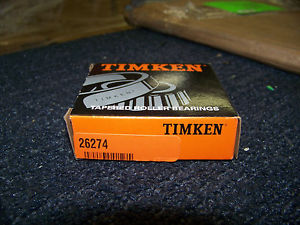 high temperature Timken Tapered Roller Bearing Cone # 26274 New