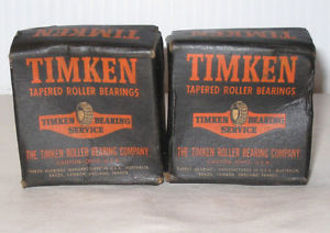 high temperature Two Timken Tapered Cone 07100 Bearings