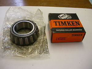 high temperature TIMKEN TAPERED ROLLER BEARING 14585 NIB