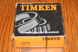 high temperature New Timken 33275 Tapered Bearing Single Cone