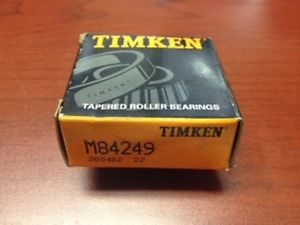 high temperature Timken M84249 New Bearing
