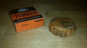 high temperature 02476 TIMKEN NOS TAPERED BEARING