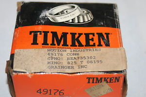 high temperature Timken 49176 Tapered Roller Bearing Single Cone  *  *