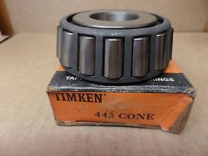 high temperature  TIMKEN 443 TAPERED ROLLER BEARING