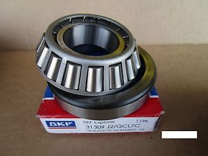high temperature SKF 31309 J2/QCL7C, Metric taper roller bearing Set