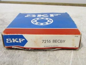 high temperature SKF 7216 Becby Bearing NIB