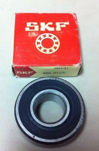 high temperature SKF 6204-2RS1/C3 Roller Bearing, lot of 2(RB27)