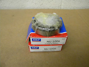 high temperature SKF NU-1006 CYLINDRICAL ROLLER BEARING LOT NIB NU1006