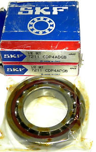 high temperature NIB SKF 7211 CDP4ADGB PRECISION BEARING SET 7211CDP4ADGB