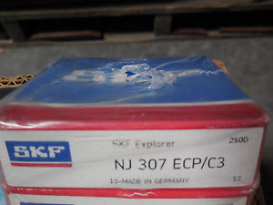 high temperature  SKF BEARING # NJ307ECP/C3
