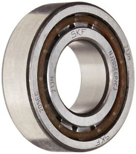 high temperature SKF NJ 205 ECP/C3 Cylindrical Roller Bearing, Single Row, Removable Inner Ring,