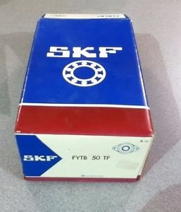 high temperature  IN BOX SKF FYTB 50 TF 2-BOLT FLANGED BEARING 50MM BORE FYTB50TF