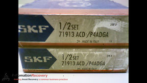 high temperature SKF 71913ACD/P4ADGA – PACK OF 2 – SUPER PRECISION BEARING,  #173206