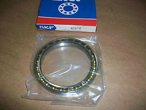 high temperature SKF 61818 Thin/Slim Deep Groove Radial Bearing    IN BOX