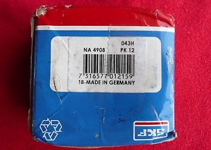 high temperature  SKF Needle Bearing NA4908 — FREE SHIPPING — Made in Germany