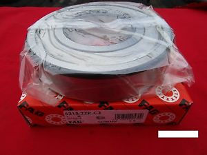 high temperature Fag 6315-2ZR C3, Single Row Radial Bearing (=2 SKF 2Z, NSK ZZ,NTN,Fafnir 315KDD)
