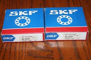 high temperature New (Lot of 2) SKF Explorer 6207 2ZNRJEM Deep Groove Bearings w/ Snap Ring