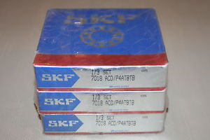 high temperature SKF 7018 ACD/P4ATBTB Super Precision Bearings (Triplex Set)  *  *