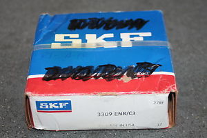 high temperature  SKF 3309 ENR/C3 Angular Contact Bearing w/snap ring 3309ENRC3