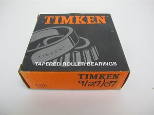 """high temperature Timken 6320 Tapered Roller Bearing Cup Chrome Steel 5-11/32"""" OD, 1-3/4"""" Width"""