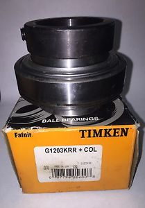 high temperature TIMKEN FAFNIR G1203KRR+COL