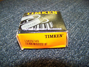 high temperature Timken Tapered Roller Bearing # LM29749 New