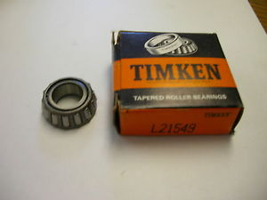 high temperature TIMKEN TAPERED ROLLER BEARING  L21549 NIB