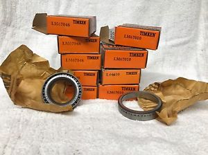 high temperature Timken (5) LM67048 & (4) LM67010 Tapered Roller Bearing Set