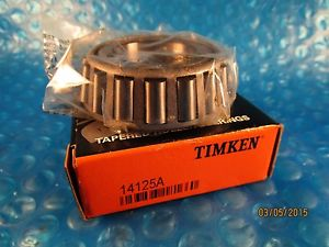 high temperature Timken 14125A Tapered Roller Bearing Cone