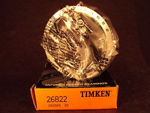 high temperature Timken 26822 Tapered Roller Bearing Cup