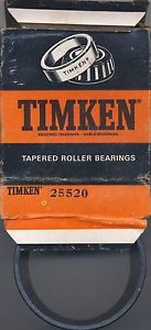 high temperature Timken 25520 Tapered Roller Bearing Cup New Old Stock