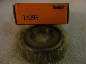high temperature Timken New Old Stock 17098 Bearing