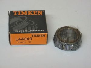 high temperature TIMKEN L44649 TAPERED ROLLER BEARING NIB Cone Only