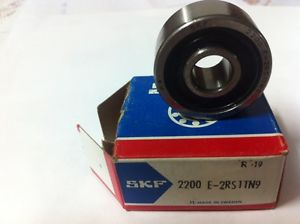 high temperature SKF 2200 E 2RS1TN9 SELF-ALIGNING BEARING