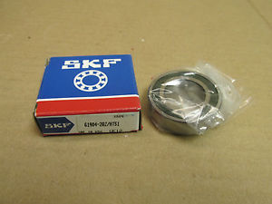 high temperature NIB SKF 61904-2RZ BEARING DOUBLE RUBBER SHIELD 619042RZ 20x37x9 mm