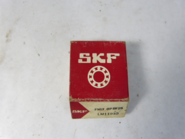 high temperature SKF LM11910 Tapered Roller Bearing !  !