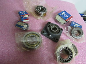 high temperature SKF Bearings Mixed Lot of 12 Pillow Block Roller Spherical Bearings 6208-6210